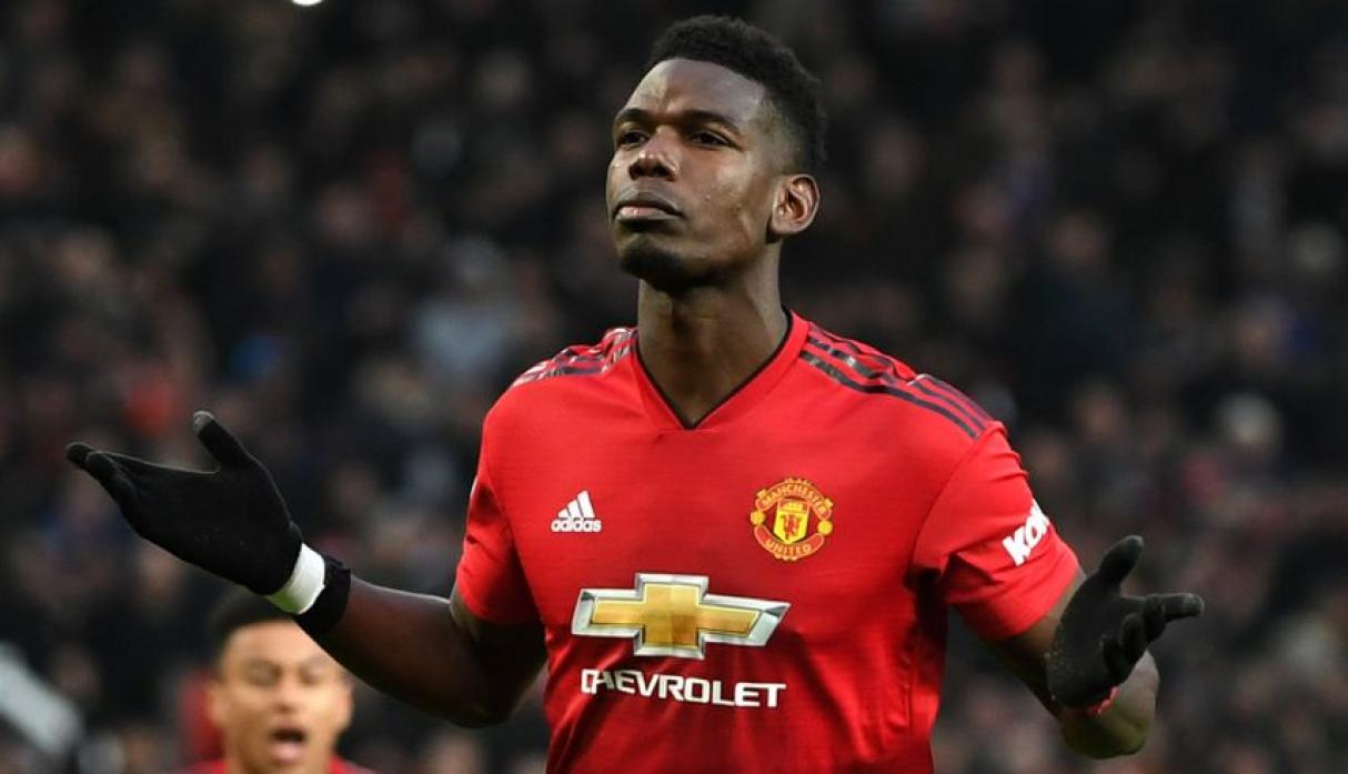 Paul Pogba - Manchester United.  (Foto: AFP).