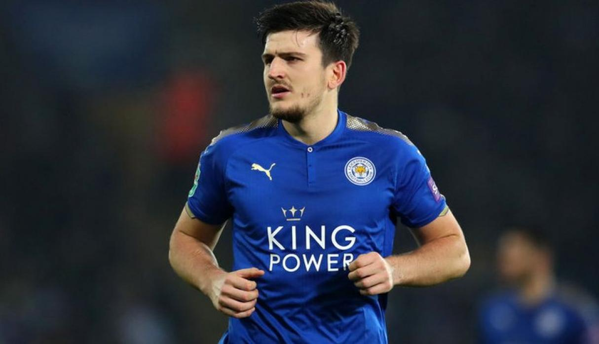 Defensa: Harry Maguire - Leicester City. (Foto: AFP).