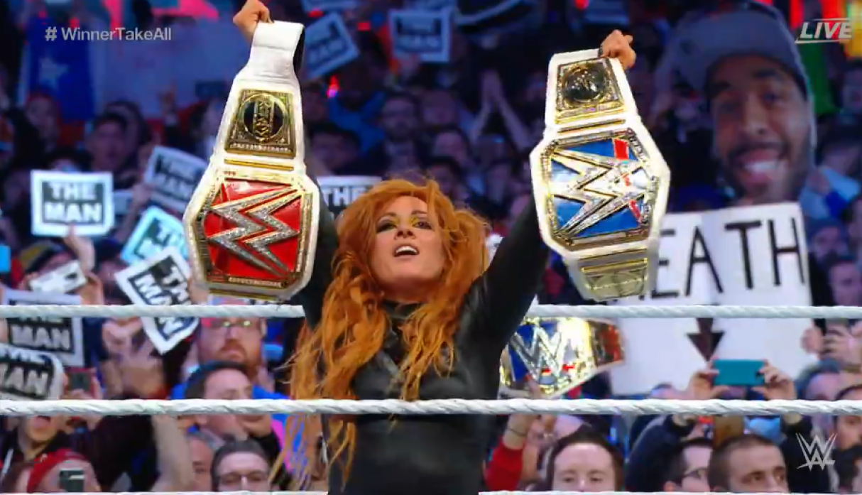 "WrestleMania 35: Becky Lynch se coronó campeona en el ""Winner Takes All"" de la WWE"