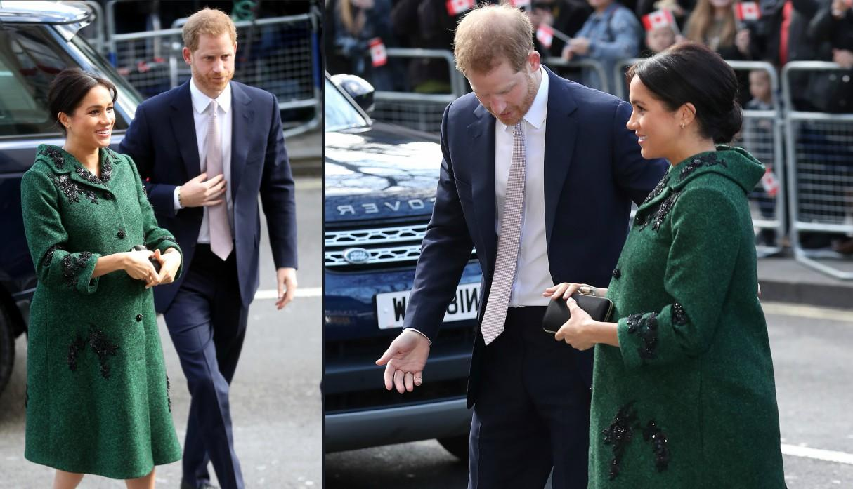 Meghan Markle embarazo looks