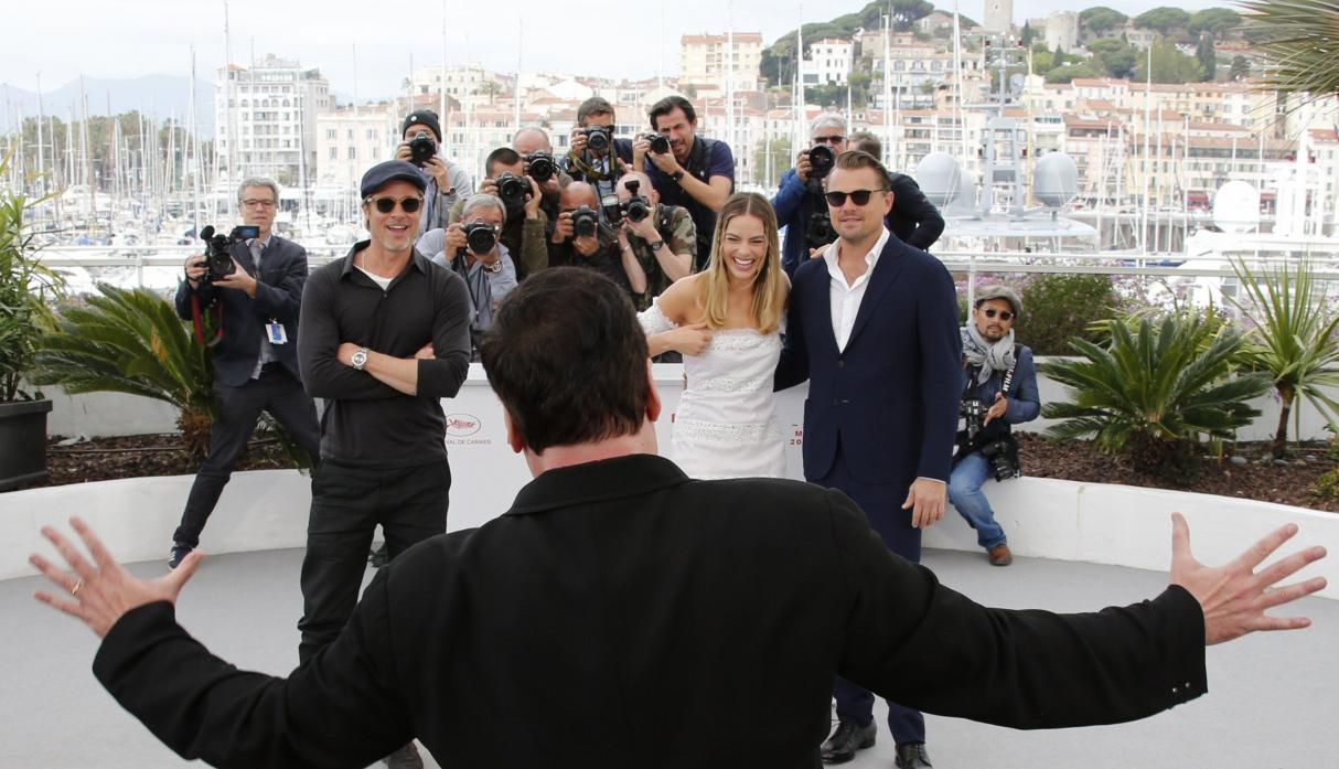 "Presentación de ""Once Upon a Time in Hollywood"" en Cannes 2019. (Foto: Agencias)"