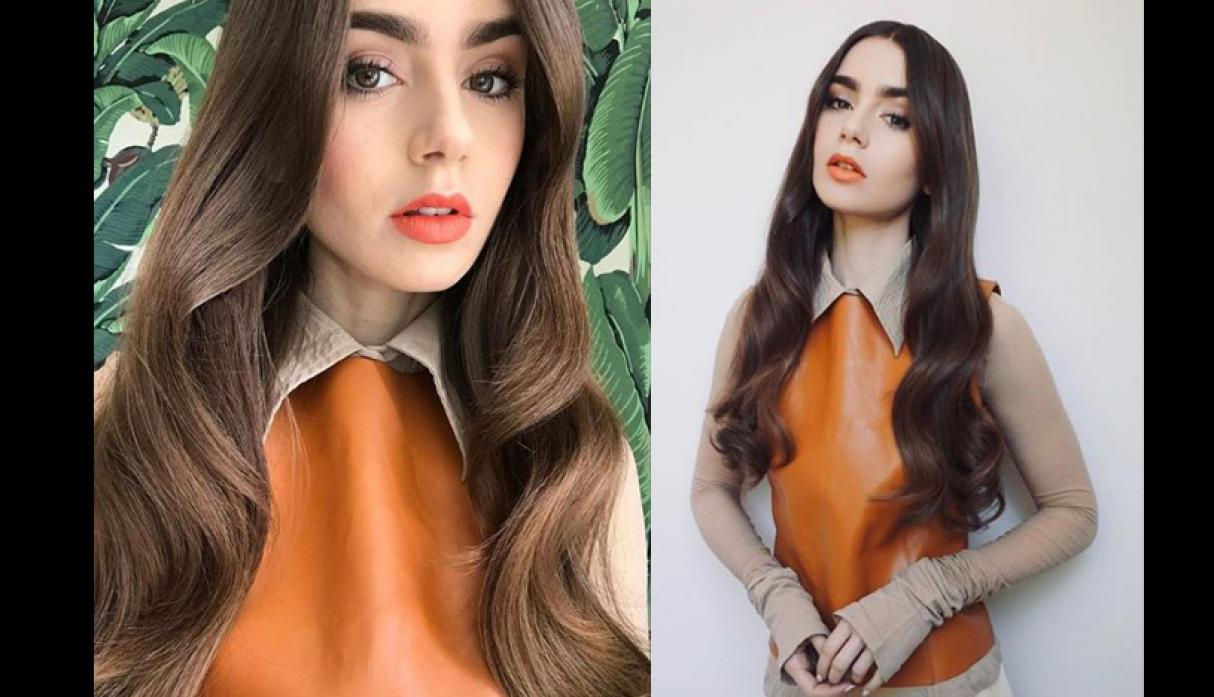 Lily Collins makeup