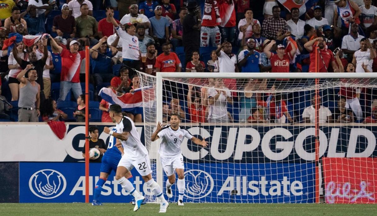 Costa Rica vs. Haití. (Foto: AFP)