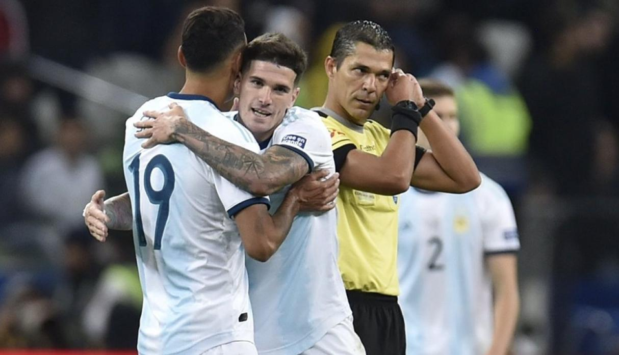 Argentina vs. Chile. (Foto: AFP)