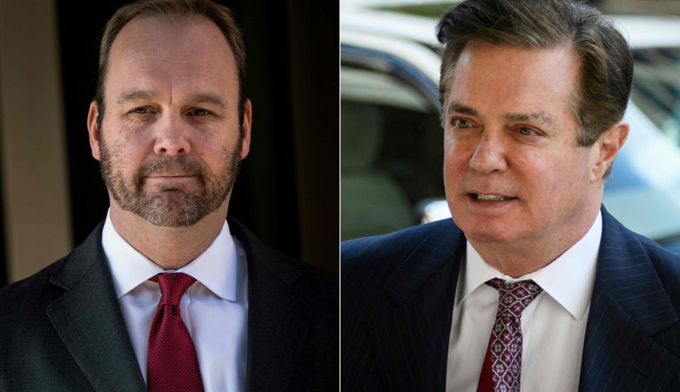 Manafort y Gates