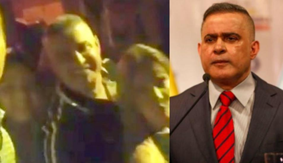 El video del fiscal general chavista Tarek William Saab que grabaron durante fiesta