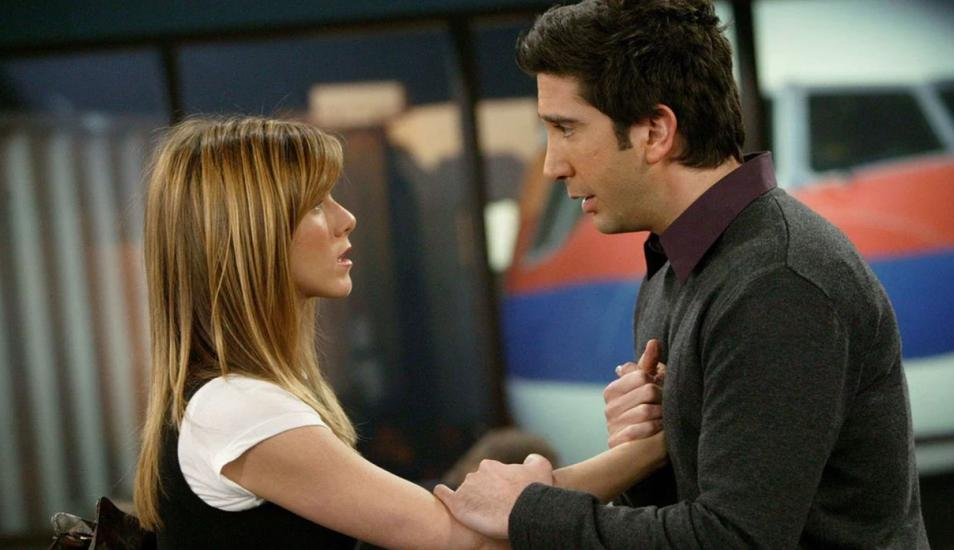 Rachel y Ross - Friends