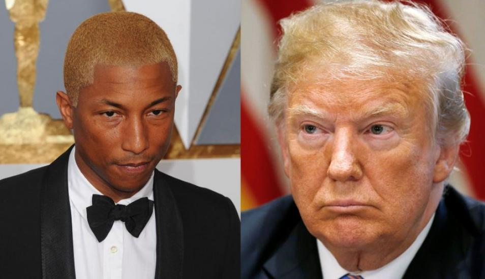Pharrell Williams amenaza con denunciar a Trump por usar su canción 'Happy' tras tiroteo