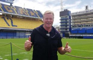 Boca Juniors vs. River Plate: Koeman llegó a Argentina para ver el superclásico y dio su favorito | VIDEO