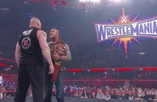 WWE: Goldberg fue 'humillado' por Brock Lesnar en Raw [VIDEO]
