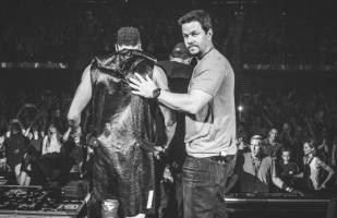 Mark Wahlberg se subió al escenario con New Kids on the Block