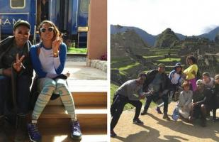 Pharrell Williams: mira las fotos de su visita a Machu Picchu