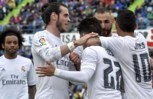 Real Madrid venció de visita 5-1 a Getafe por Liga BBVA [VIDEO]