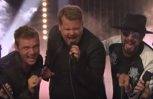 'Backstreet Boys' y la divertida coreografía con James Corden