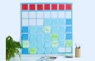 DIY: Crea un original calendario usando post-it