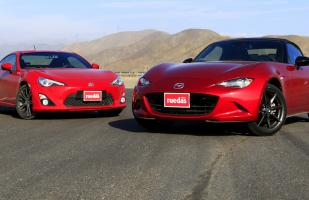 Cara a Cara: Mazda MX-5 vs Toyota GT86 [VIDEO]