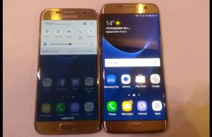 MWC 2016: Así son el Galaxy S7 y el Galaxy S7 Edge [VIDEO]