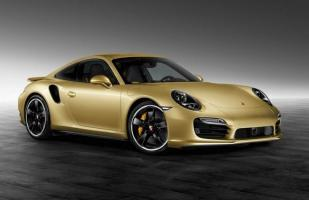 FOTOS: Este es el exclusivo Porsche 911 Turbo Gold