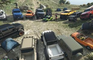 GTA Online: Jugadores realizaron espectacular travesía off road
