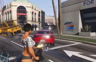 YouTube: Prepárate para disparar autos en Grand Theft Auto V