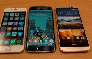 Guerra de cámaras: HTC One M9 vs Galaxy S6 Edge vs iPhone 6