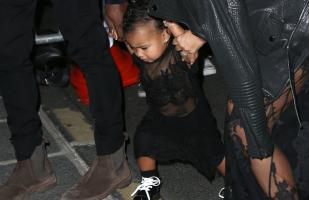 North West, una mini ícono de la moda