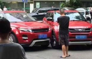 ¡Insólito! Range Rover Evoque choca con su copia china