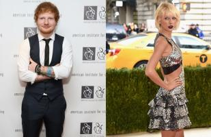 Taylor Swift rindió emotivo tributo a Ed Sheeran