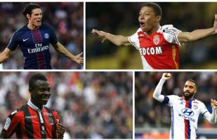 Cavani, Mbappé y Verratti integran equipo ideal de la Ligue 1