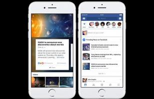 Facebook propone fuentes de noticias alternativas en Tendencias