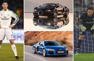 Champions League: El duelo de los autos de los cracks del Real Madrid y la Juventus