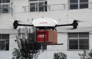 Rival de Amazon en China ya usa drones para realizar entregas [VIDEO]