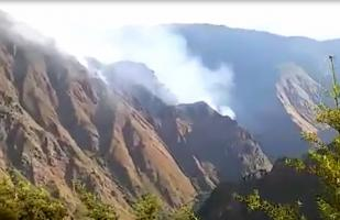 Cusco: reportan incendio forestal en alrededores de Machu Picchu [VIDEO]