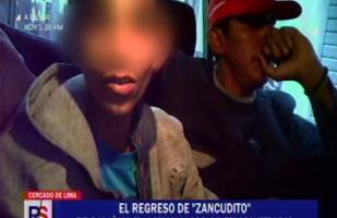 Capturan a 'Zancudito', el adolescente que era el terror de Barrios Altos