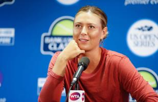 Sharapova fue invitada al US Open: disputará un Grand Slam tras 18 meses