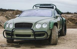 A subasta Bentley Continental todoterreno