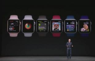 Apple Watch Serie 3: Tim Cook lo presentó en el Apple Event [FOTOS]