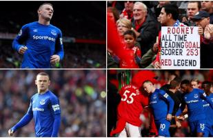 Wayne Rooney y su regreso a Old Trafford con camiseta de Everton