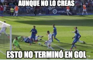 Facebook: el Real Madrid vs. Getafe dejó estos divertidos memes