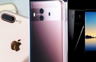 Huawei Mate 10, iPhone 8 Plus o Galaxy Note 8: ¿Cuál es mejor?