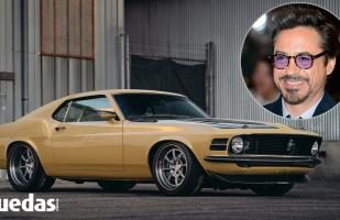 'Iron Man' compró un hermoso Ford Mustang Boss 302