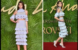 Los 'looks' más sorprendentes de los British Fashion Awards