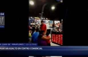 Mall del Sur: incidente causó alarma en centro comercial