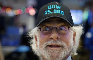 Wall Street abre con fuerte ganancia, Dow Jones sube 0,37 %