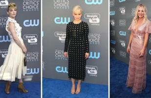 Critics' Choice Awards: Los looks menos favorecedores de la gala