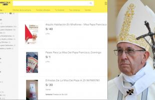 Misa Papal: venden boletos en Internet pese a ser gratuitos