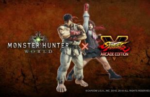 Ryu y Sakura de Street Fighter llegan a Monster Hunter World