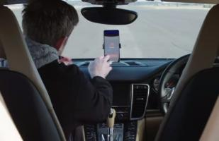 'RoadReader', el primer auto conducido por un Smartphone [VIDEO]