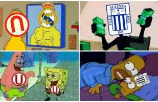 Facebook: divertidos memes del Universitario vs. Alianza Lima