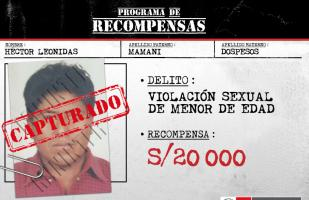 Arequipa: capturan a requisitoriado por violación a menor